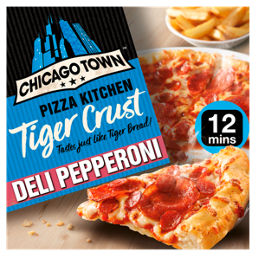 Chicago Town Pizza Kitchen Tiger Crust Deli Pepperoni Pizza