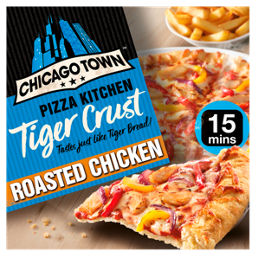 Chicago Town Pizza Kitchen Tiger Crust Roasted Chicken Pizza