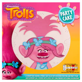 Trolls party cake asda groceries publicscrutiny Image collections