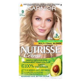 Nutrisse 9 Light Blonde Permanent Hair Dye