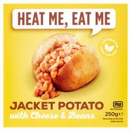 Heat Me Eat Me Jacket Potato With Cheese Beans Asda