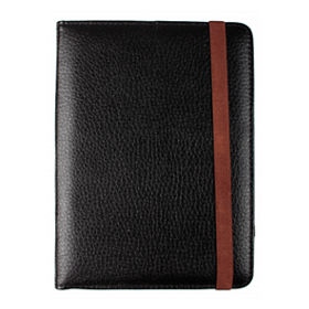 new arrival ae7da 2e932 Black Leather Look 7 inch eReader Kindle Case