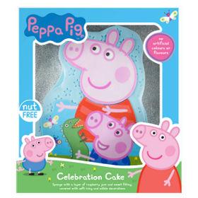 Peppa Pig Celebration Celebration Cake Asda Groceries