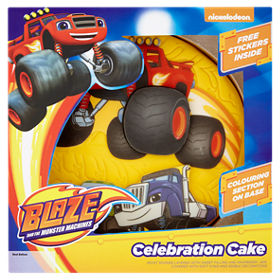 Nickelodeon Blaze The Monster Machines Celebration Cake Asda Groceries