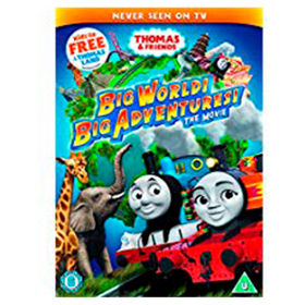 dvd thomas friends big world big adventures the movie asda