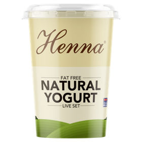 Henna Low Fat Natural Set Yogurt Asda Groceries