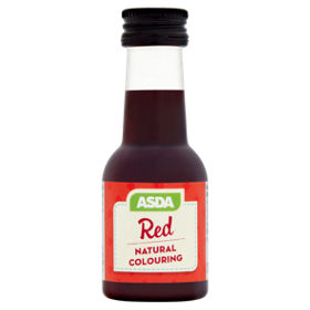 ASDA Red Natural Food Colouring - ASDA Groceries