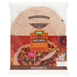 Asda Wholemeal Wraps Asda Groceries