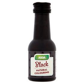 ASDA Black Natural Food Colouring - ASDA Groceries