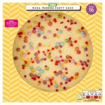 Asda Mega Madeira Cake