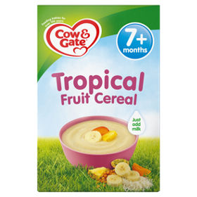 Cow Gate Tropical Fruit Cereal 7m Asda Groceries