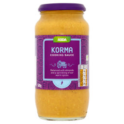 Asda Korma Curry Sauce Asda Groceries