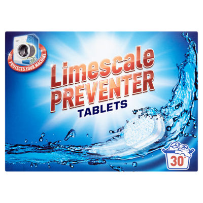 Asda Washing Machine Cleaner 2 In 1 Limescale Preventer Tablets 30