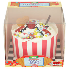 ASDA All American Ice Cream Sundae Cake
