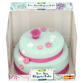 Asda two tier blossom cake asda groceries publicscrutiny Image collections