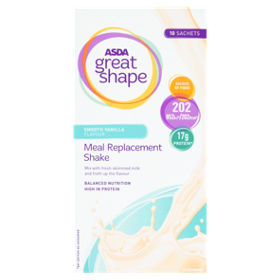 Great Shape Meal Replacement Shake Smooth Vanilla Flavour