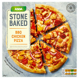 Asda Bbq Chicken Stonebaked Pizza Asda Groceries