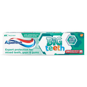 My Big Teeth 6+ Years Fluoride Toothpaste