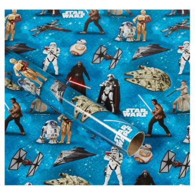 Star Wars Roll Wrap  sc 1 st  ASDA Groceries & Star Wars Roll Wrap - ASDA Groceries