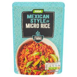 asda mexican style micro rice