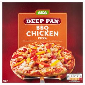 BBQ Chicken Deep Pan Pizza
