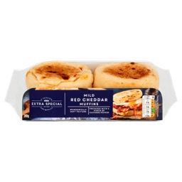 Asda Extra Special Mild Red Cheddar Muffins Asda Groceries