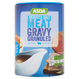 Asda Reduced Salt Meat Gravy Granules Asda Groceries