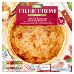 Asda Free From Quiche Lorraine Asda Groceries