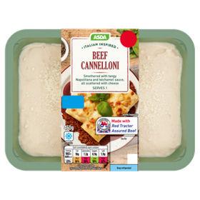 asda italian beef cannelloni asda groceries