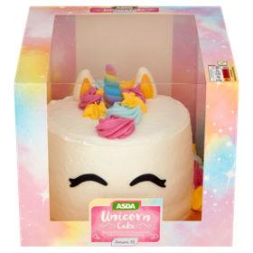 ASDA Unicorn Cake