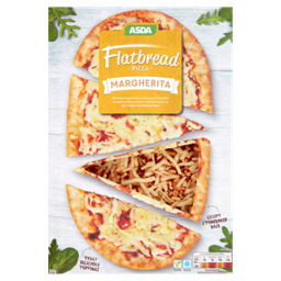 Asda Flatbread Pizza Margherita Asda Groceries