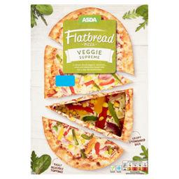 Asda Flatbread Pizza Veggie Supreme Asda Groceries