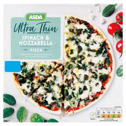 Asda Ultra Thin Spinach Mozzarella Pizza Asda Groceries