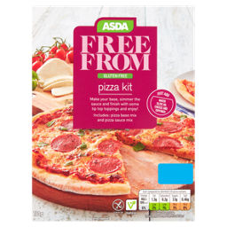 Asda Free From Gluten Free Pizza Kit Asda Groceries