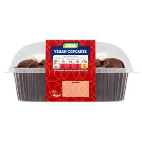 ASDA Vegan Chocolate Cupcakes