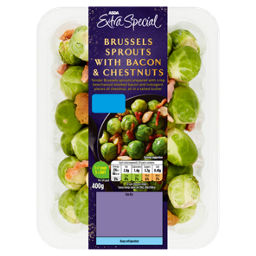 ASDA Extra Special Brussels Sprouts with Bacon & Chestnuts - ASDA Groceries