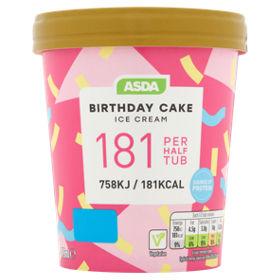 ASDA Birthday Cake Ice Cream