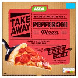 Asda Take Away Pepperoni Pizza Asda Groceries