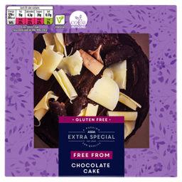 ASDA Extra Special Gluten Free Belgian Chocolate Cake - ASDA Groceries