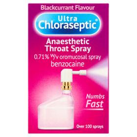 Anaesthetic Throat Spray Blackcurrant Flavour