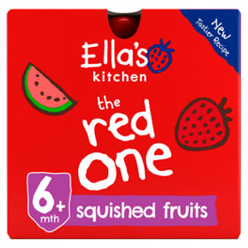 ellas kitchen the red one pouches 6m asda groceries - Ellas Kitchen