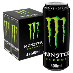 monster energy cans asda groceries
