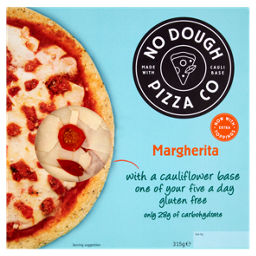 No Dough Pizza Co Margherita Asda Groceries