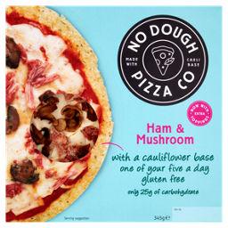 No Dough Pizza Co Ham Mushroom Asda Groceries