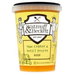 Watmuff Beckett Thai Carrot Sweet Potato Soup Asda