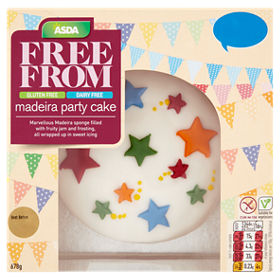 ASDA Free From Madeira Party Cake