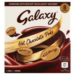 Galaxy 8 Hot Chocolate Pods Dolce Gusto Compatible Asda