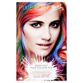 pixie lott paint wash out hair colour mix asda groceries