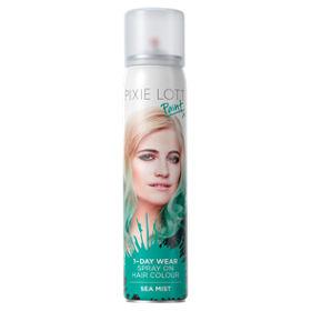 Pixie Lott Paint 1-Day Wear Spray on Hair Colour Sea Mist - ASDA ...