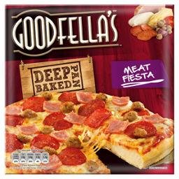 Goodfellas Meat Feast Deep Pan Baked Pizza Asda Groceries